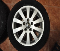SET JANTE VW PASSAT, MODEL MILWAUKEE, 7JX16, ET45